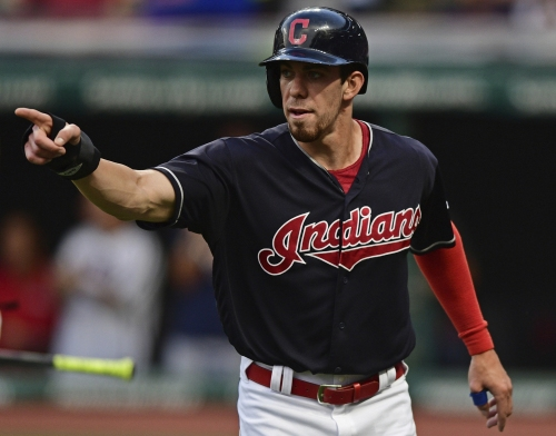 Cleveland Indians' Bradley Zimmer shut down for four to six weeks with sore right shoulder
