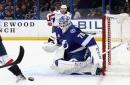 Tampa Bay Lightning Extend Goaltender Louis Domingue