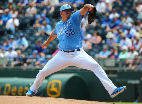 Royals pitcher Brad Keller is Diamondbacks' Rule 5 loss