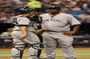 Yankees' offense is quiet as they lose to the Rays
