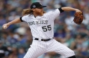 Gray strikes out 12 in Rockies' 11-3 win over Marlins
