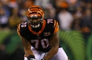 """Bengals OL Cedric Ogbuehi is """"in the mix to start at right tackle"""""""