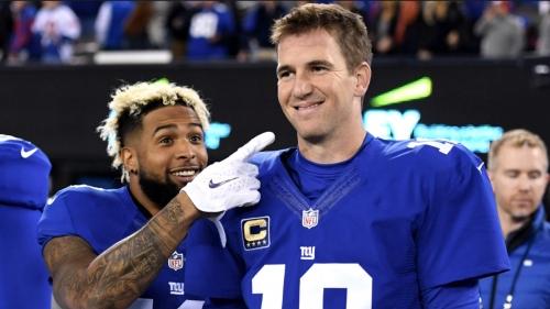 Giants QB Eli Manning says Odell Beckham Jr. 'looks healthy'