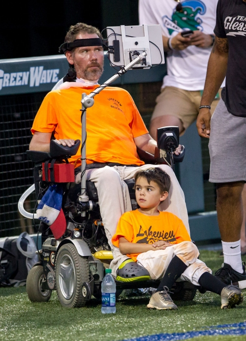 Louisiana Sports Hall of Fame: Steve Gleason's relentless fight against ALS earns him Dave Dixon Leadership Award