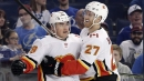 Who won the Flames-Hurricanes blockbuster trade?