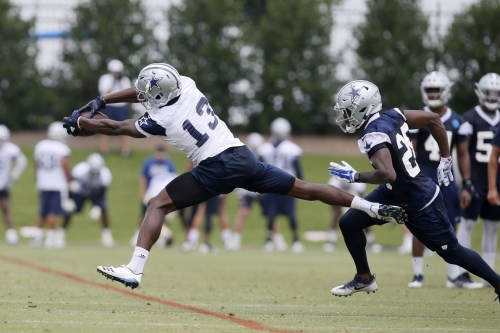 Cowboys positional battles: Which wide receivers emerge at training camp?
