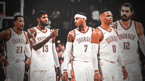 Thunder starting 5 was one of the best in the NBA last season