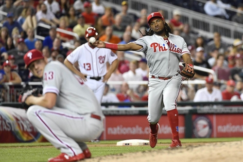 No Relief: Nationals 8 - Phillies 6