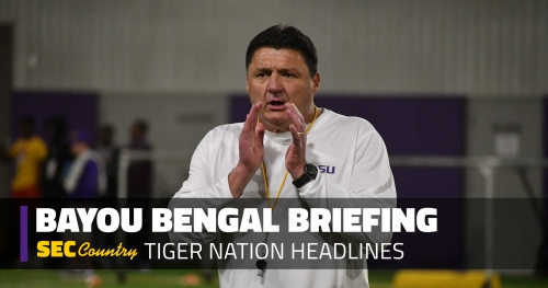 Don't look now, but LSU has top-3 recruiting class in country