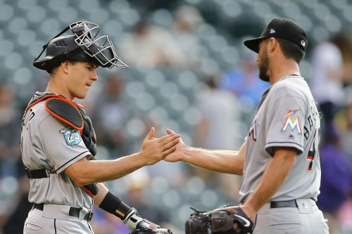 Marlins 8, Rockies 5: Dietrich, bullpen lead Fish to clinch road and season series