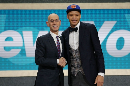 Kevin Knox ready to prove booing Knicks fans wrong