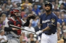 Discussing the demotion of Domingo Santana
