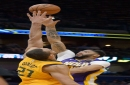 Jazz center Rudy Gobert blocks Pelicans star Anthony Davis from Defensive Player of the Year award