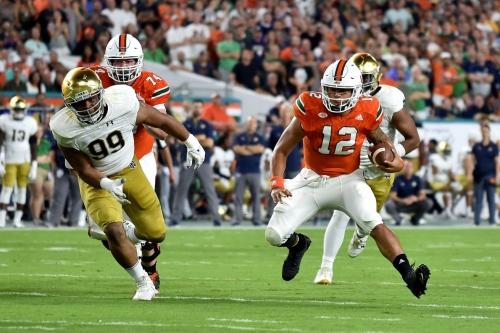 Miami Hurricanes Games We Love: 2017 vs Notre Dame