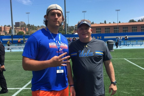 UCLA Football Recruiting: 3-Star OL Beau Taylor Commits to the Bruins