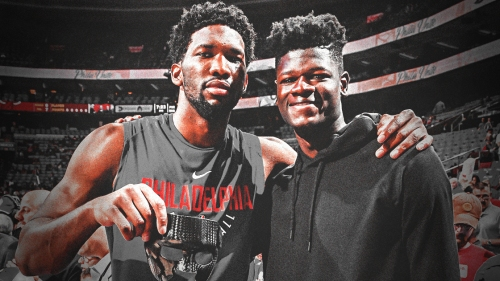 Video: Joel Embiid dunks on Mo Bamba, says 'Welcome to the f–kin league'