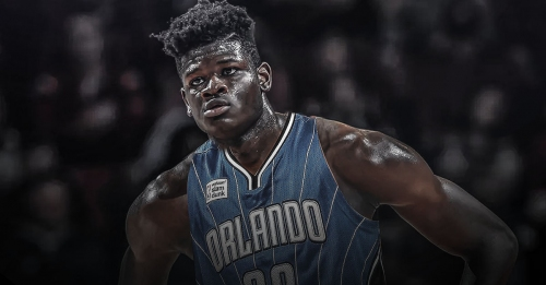 Mo Bamba reacts to viral video of Joel Embiid owning him