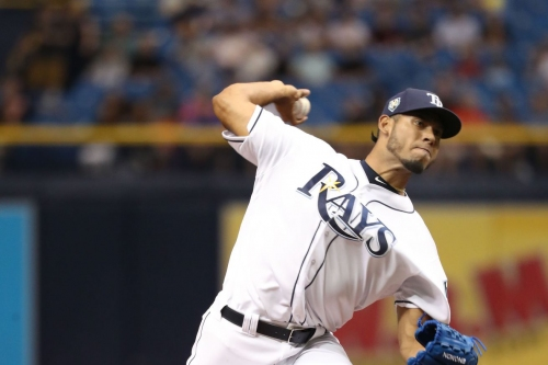 Tampa Bay Rays place Wilmer Font on the disabled list, recall Hunter Wood