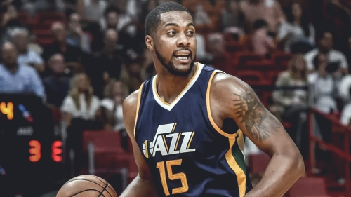 Derrick Favors is high on Utah's priority list