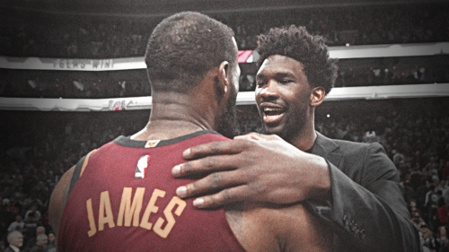Joel Embiid tweets about the Lakers with LeBron James' decision looming