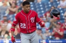 Nationals drop 3-2 decision to Phillies in CBP...