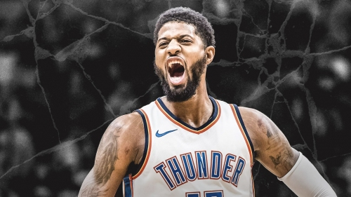 Paul George's first message on IG after decision to stay in OKC