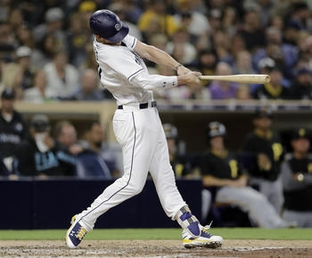 Myers, Lucchesi lead Padres over Pirates, 4-3
