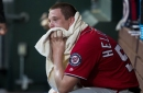 Jeremy Hellickson suffers first loss in return to Nationals' rotation vs Phillies