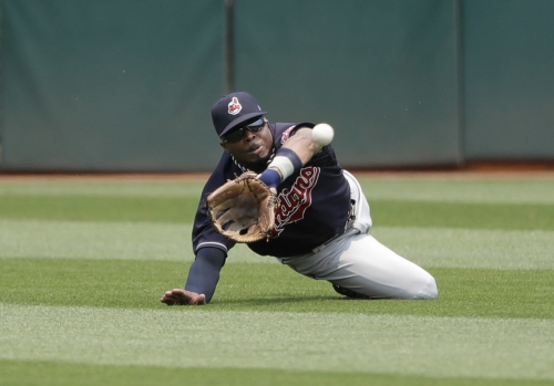 Cleveland Indians hit 11 doubles in a 13-3 victory over the Oakland Athletics