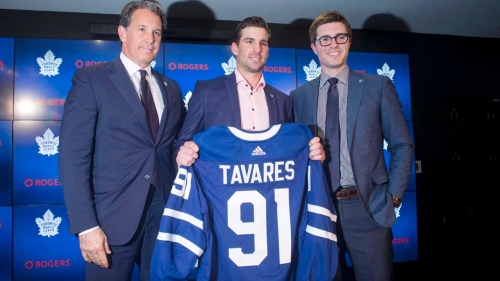 Tavares jumpstarts Maple Leafs Stanley Cup window