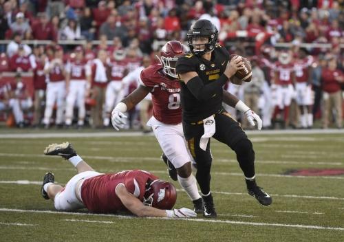Mizzou-Arkansas football game again moves to Black Friday