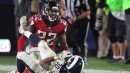 Keanu Neal shares thoughts on playing against Saints' Drew Brees