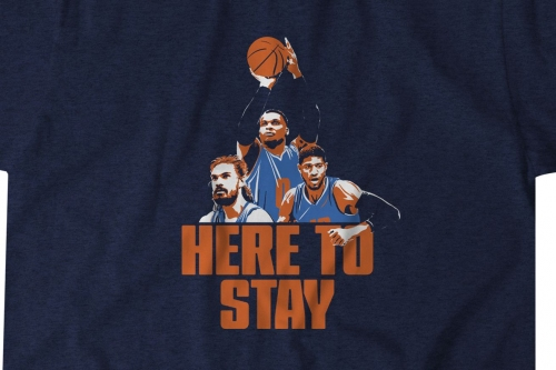 Get your PG/Russ/Funaki 'Here to Stay' T-Shirt