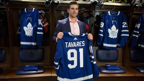John Tavares explains why he signed with Maple Leafs, talks nostalgia