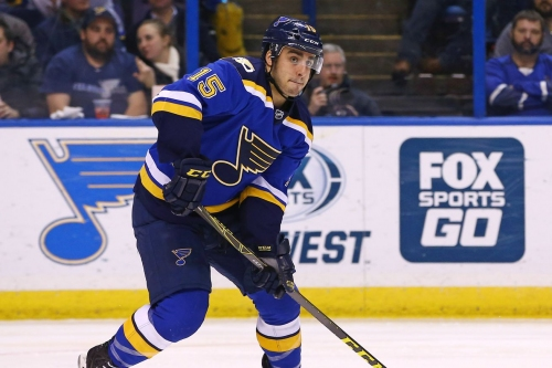 Robby Fabbri agrees to one-year deal with Blues