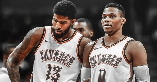 Paul George talks about Russell Westbrook's impact on his decision