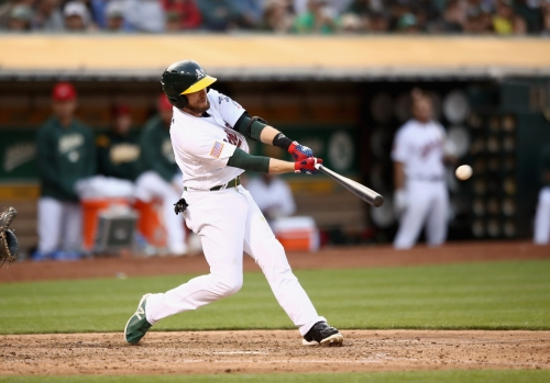 Jed Lowrie continues All-Star case with clutch double to lead A's over Padres