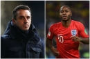 Manchester United great Gary Neville lets fly after Raheem Sterling incident