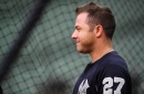New York Yankees catcher Austin Romine sits for fourth straight day