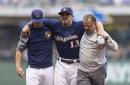 Brewers Injury Updates: Lorenzo Cain improving, Tyler Saladino return 'any day now'