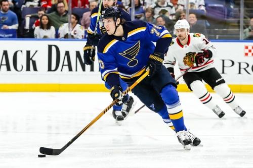 St. Louis Blues Re-Sign Oskar Sundqvist
