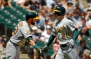 A's could take different lineup approach over next week vs righties