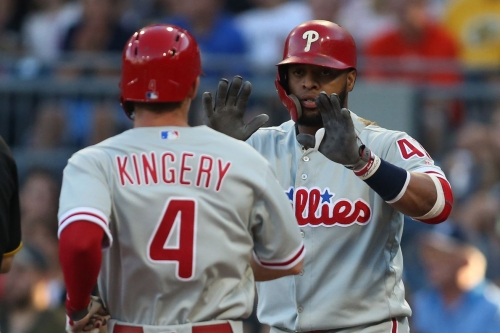 Oh, hello there...FIRST PLACE: Phillies 17, Pirates 5
