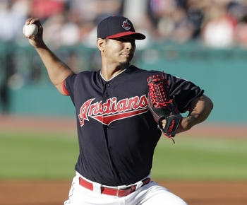 Carrasco wins in return from DL, Indians down A's 10-4