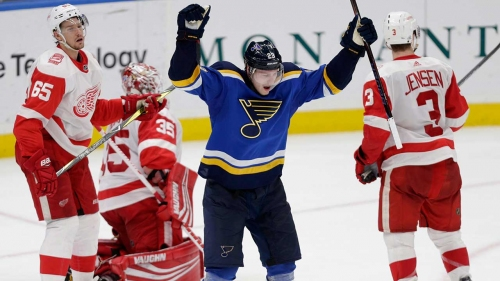 Blues sign forward Dmitrij Jaskin to one-year deal