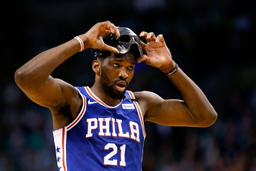 Joel Embiid channels The Undertaker to announce: 'The MVP Process begins'