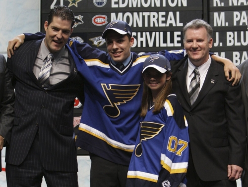 Perron just couldn't say 'no' to St. Louis and the Blues