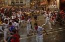 2nd day of bull run festival kicks off in Spain