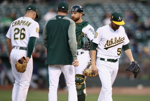 Another A's starting pitcher lands on disabled list