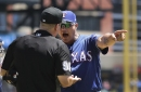 Rangers' Banister ejected in 2nd inning against Tigers